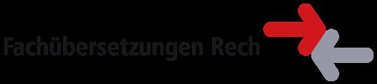 Fachübersetzungen Rech Mobile Retina Logo